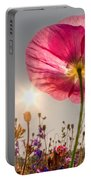 Morning Pink Portable Battery Charger