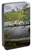 Morning Reflection Of Cathedral Group Portable Battery Charger