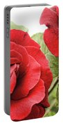 Morning Roses Portable Battery Charger