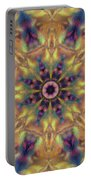 10300 Morning Sky Kaleidoscope 01a Portable Battery Charger