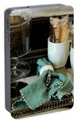 Morning Still Life Portable Battery Charger