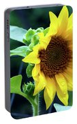 Morning Sunflower Portable Battery Charger