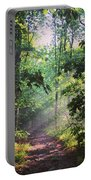 Morning Sunshine On The Appalachian Trail Portable Battery Charger