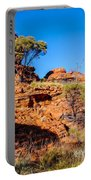 Morning To The Kings Canyon Rim - Northern Territory, Australia Portable Battery Charger