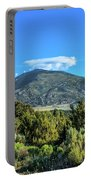 Morning View Of Albion Mountains Portable Battery Charger