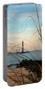 Morris Island Lighthouse In Charleston Sc Portable Battery Charger