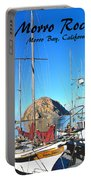 Morro Rock Morro Bay California Portable Battery Charger