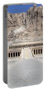 Mortuary Temple Of Hatshepsut - Egypt Portable Battery Charger
