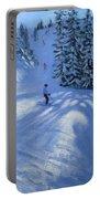 Morzine Ski Run Portable Battery Charger