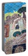Mosaic Art At Petra Portable Battery Charger