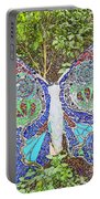 Mosaic Butterfly Portable Battery Charger