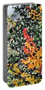 Mosaic Foliage Portable Battery Charger