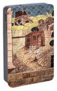 Mosaic Images At Petra Portable Battery Charger