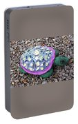 Mosaic Turtle Portable Battery Charger