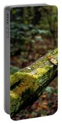 Moss Covered Fence Portable Battery Charger