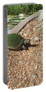 Moss Covered Turtle Portable Battery Charger