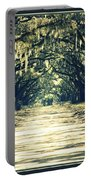 Moss Green Road Portable Battery Charger