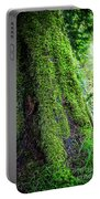 Moss On Tree Portable Battery Charger