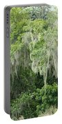 Mossy Branches Portable Battery Charger