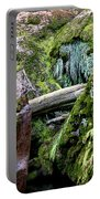 Mossy Rocks Portable Battery Charger