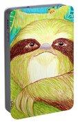 Mossy Sloth Portable Battery Charger
