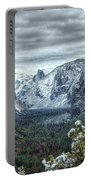 Most Beautiful Yosemite National Park Tunnel View Portable Battery Charger