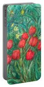 Mostly Tulips Portable Battery Charger