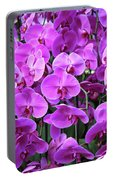 Moth Orchid Exuberance Portable Battery Charger