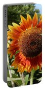 Mother And Daughter Sunflowers Portable Battery Charger
