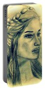 Mother Of Dragons Portable Battery Charger