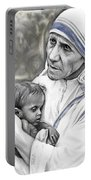 Mother Teresa. God Bless This Child Portable Battery Charger