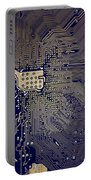 Motherboard Architecture Blue Portable Battery Charger