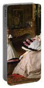 Motherly Love Portable Battery Charger by Gustave Leonard de Jonghe