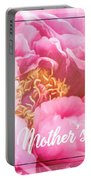 Mother's Day Peony Portable Battery Charger