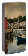 Motif Number One Portable Battery Charger by Robin-Lee Vieira