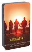 Motivational Travel Poster - Hireath Portable Battery Charger