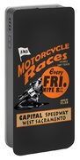 Motorcycle Speedway Races Portable Battery Charger