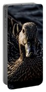 Mottled Duck In Big Spring Park Portable Battery Charger
