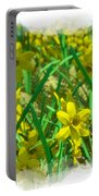Mound Of Flowers... Portable Battery Charger