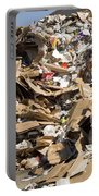 Mound Of Recyclables Portable Battery Charger
