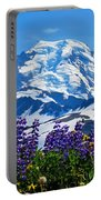 Mount Baker Wildflowers Portable Battery Charger