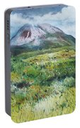 Mount Errigal County Donegal Ireland 2016 Portable Battery Charger