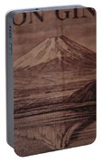 Mount Fuji Portable Battery Charger
