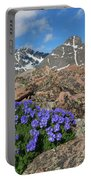 Mount Holy Cross With Wildflowers 2 Portable Battery Charger