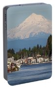 Mount Hood And Columbia River House Boats Portable Battery Charger