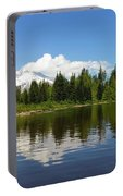 Mount Hood By Mirror Lake Portable Battery Charger