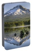 Mount Hood Reflection On Trillium Lake Portable Battery Charger