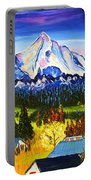 Mount Hood River Valley #1. Portable Battery Charger