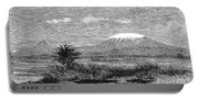 Mount Kilimanjaro, 1884 Portable Battery Charger