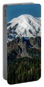 Mount Rainier - Cowilitz Chimneys  Portable Battery Charger